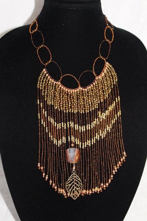 Belle's Nefertiti Necklace - Wave