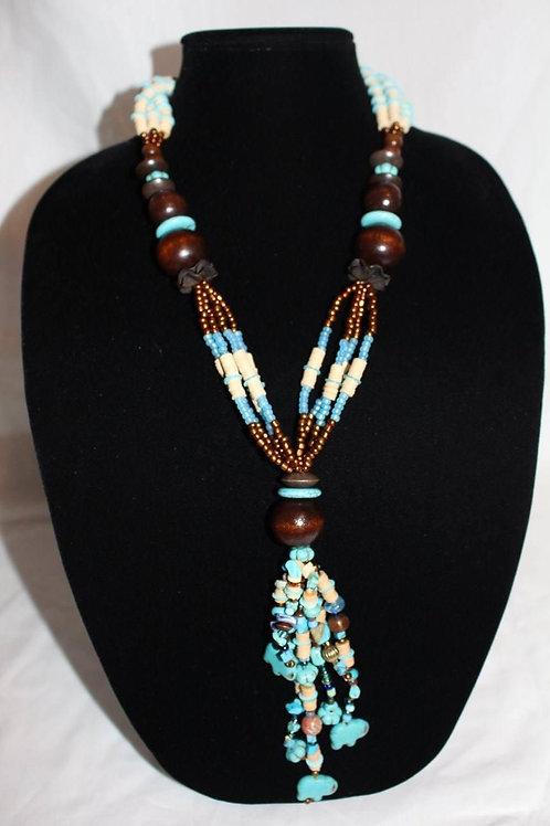 Belle's Nefertiti Necklace -Wisdom Walk