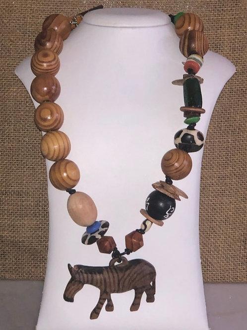 Belle's Nefertiti Necklace - Wild Collection