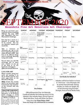 September 2020 BeauxArts Art Challenge.j