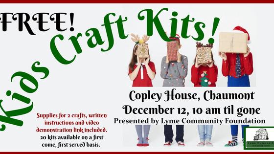 Free Kids Christmas Craft Kits!