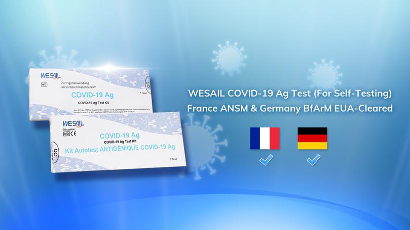 M LEPAGE Distribution - WeSail Autotest COVID-19