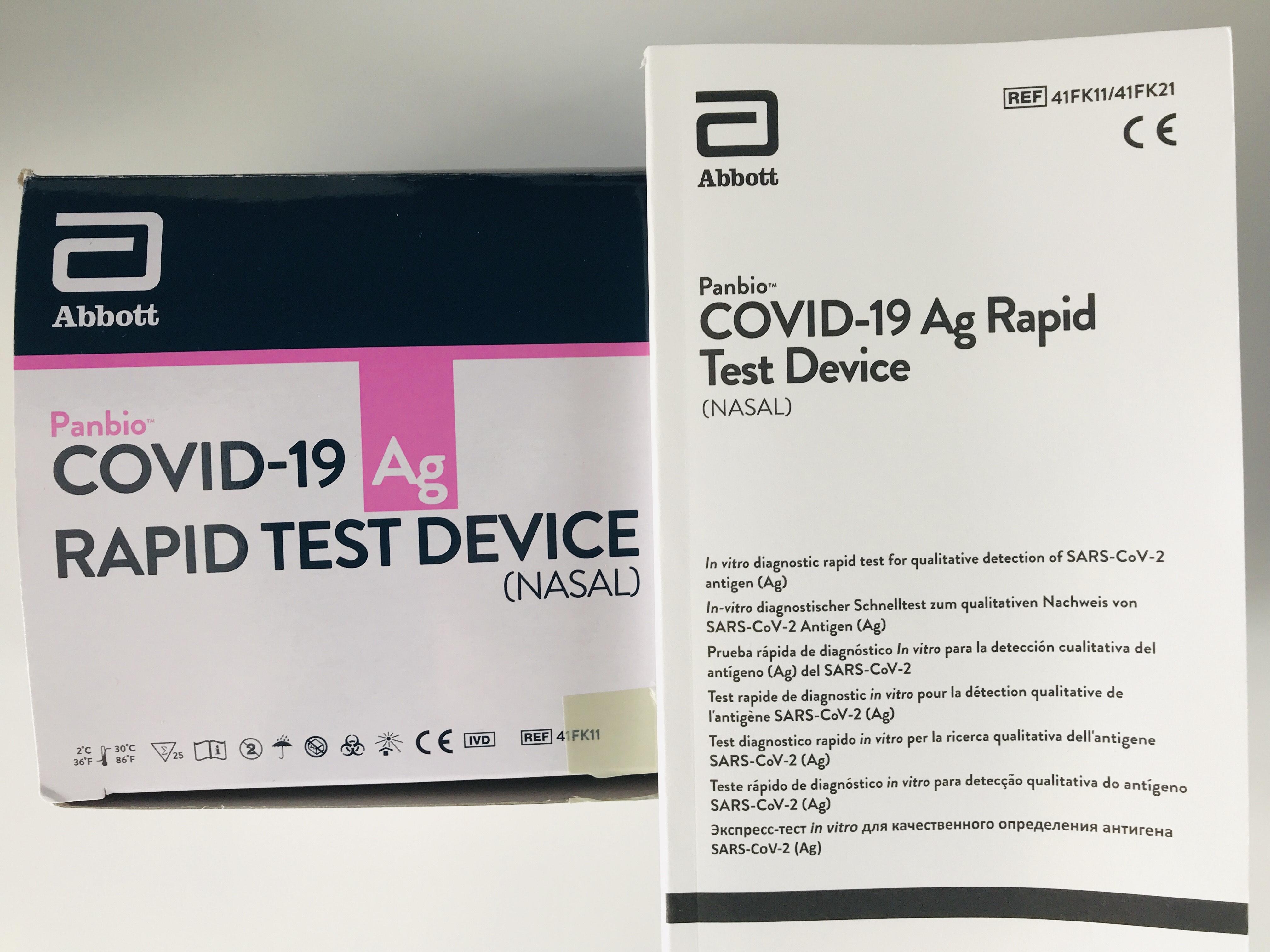 PANBIO™ COVID-19 Ag Test