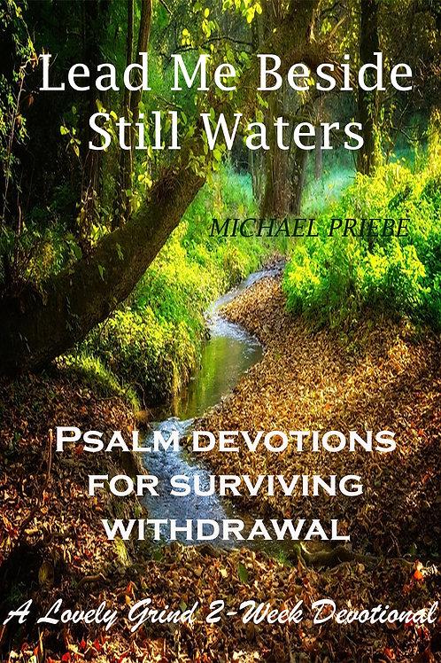 Lead Me Beside Still Waters - A Withdrawal Devotional