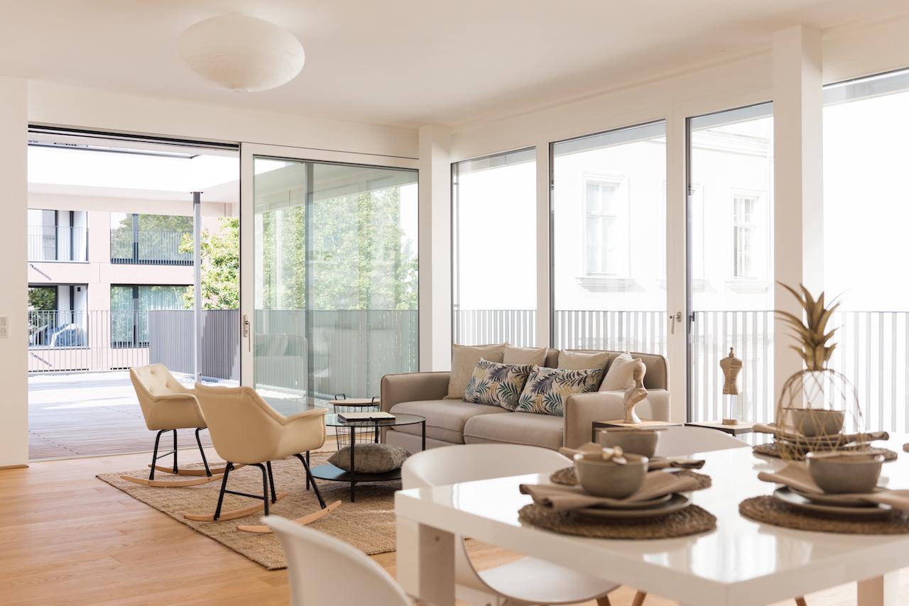 Wohnbereich Home Staging
