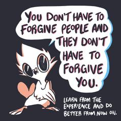 Forgiveness Goes Both Ways