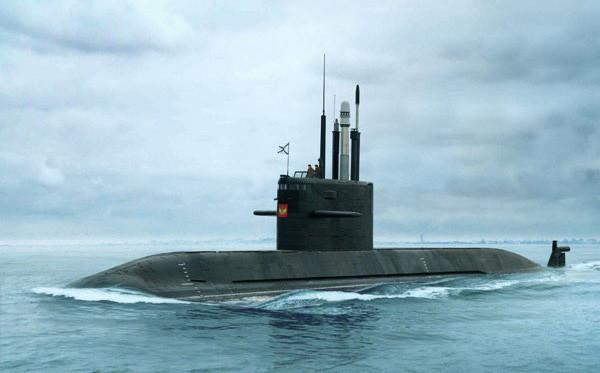 Submarino ruso de la clase Lada