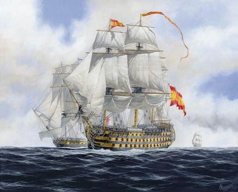 Del navío de línea al acorazado (I): el navío de línea
