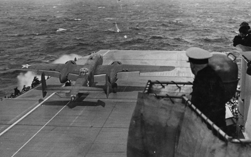 Raid de Doolittle, desde portaaviones estadounidenses a Tokio en la Segunda Guerra Mundial