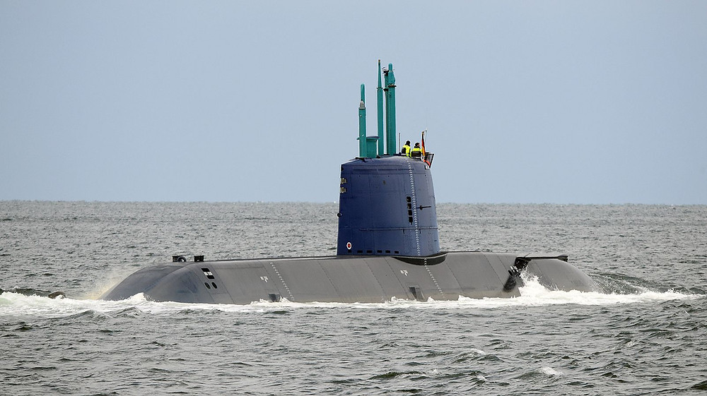 Submarino clase Dolphin-II israelí