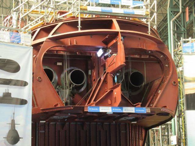 Submarino S-80 Isaac Peral en el astillero