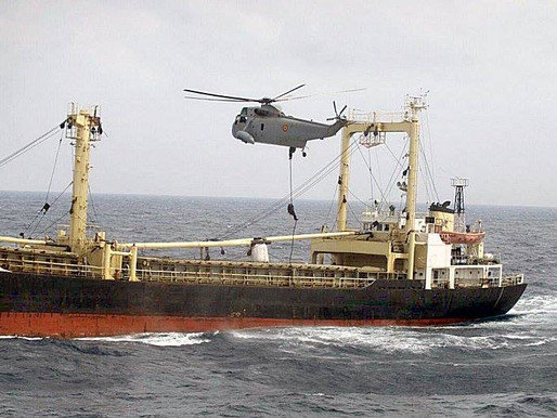 Operaciones especiales: abordaje por la fuerza para requisar quince misiles de crucero