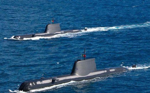 Submarinos tipo 214 de Portugal