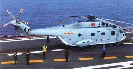 El Z-18F es un helicóptero antisubmarino derivado del Super Frelon que, hasta ahora, solo podía operar desde portaaeronaves