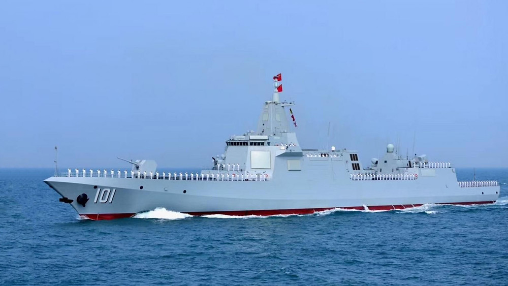 El Nanchang es el primero de una nueva clase de enormes destructores chinos (defpost.com)