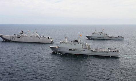 Buques anfibios de la Armada española: Juan Carlos I, Galicia y Castilla