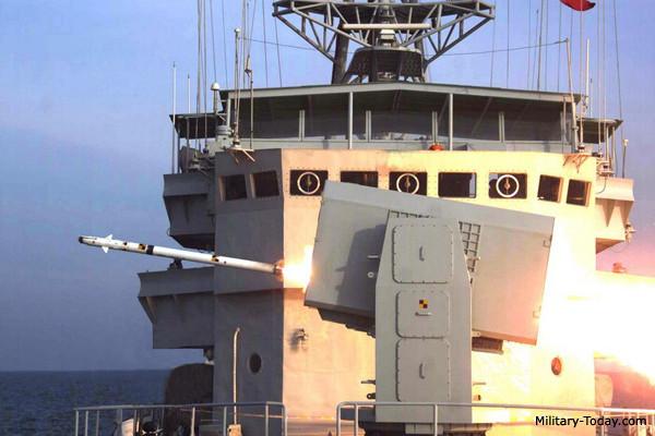 Misil antiaéreo HHQ-10, de corto alcance