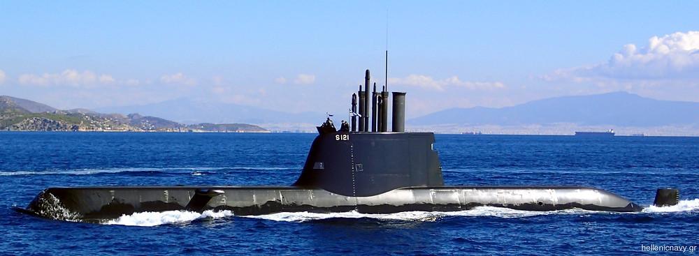 Submarino tipo 214 de la marina griega