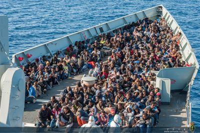Fragata Numancia en la Operación Sophia
