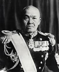 Vicealmirante Nagumo, jefe de los portaaviones japoneses en Midway