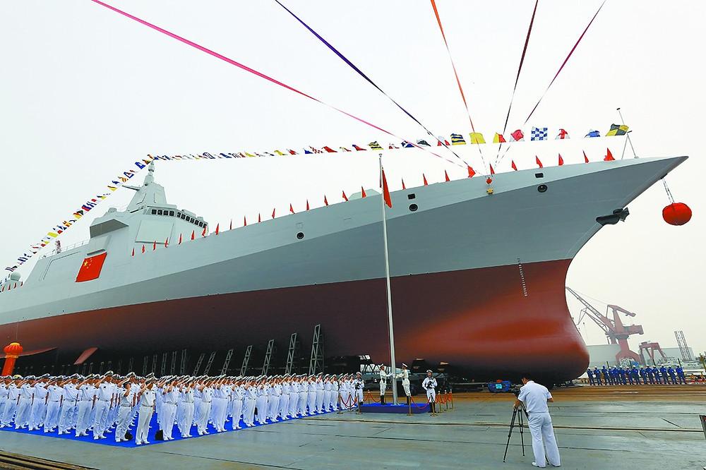 La capacidad de construcción naval china es abrumadora