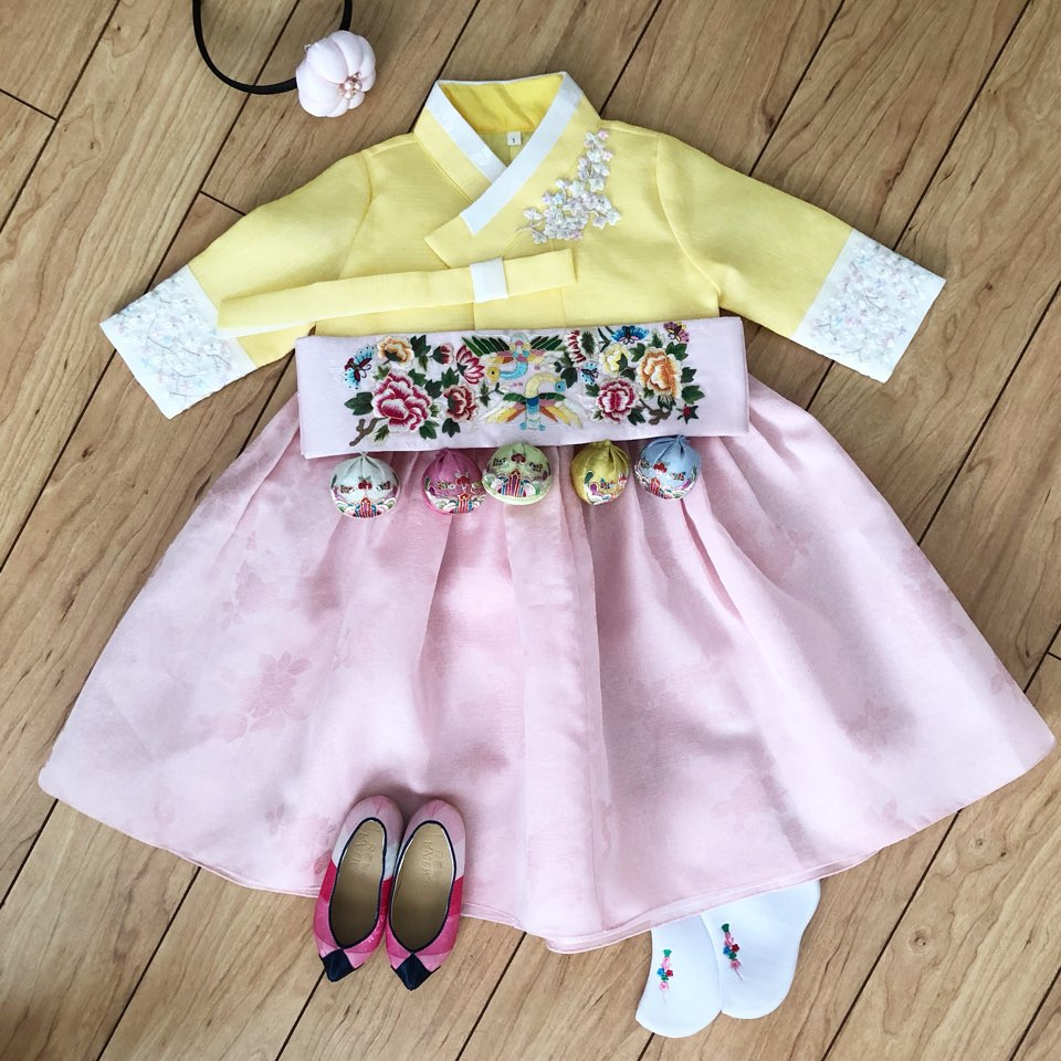 Yellow Hanbok