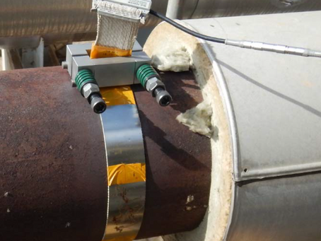 High-Temperature Guided Wave Pipeline Inspection