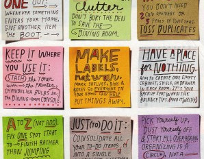 BECOME A CLUTTER WHISPERER WITH THESE 9 ORGANIZING MOTTOES