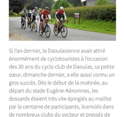 La Daoulasienne / Le Télégramme