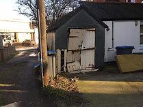 Shed Demolition (Before)