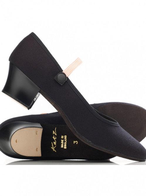 Katz Cuban Heel - Canvas Character Shoes