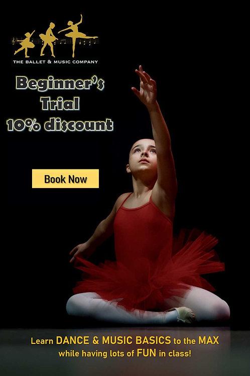 Dance Trials Promo for Beginner