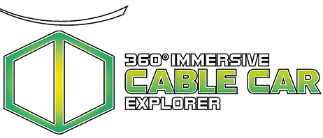 360 immersive cable car explorer logo 3d 4d xd virtec attractions
