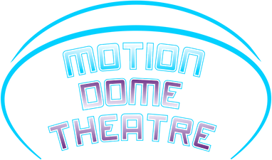 Motion dome theatre logo 3d 4d xd virtec attractions