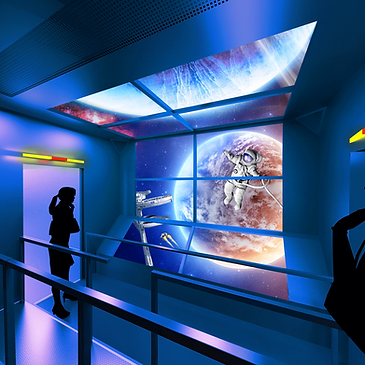 cable car explorer space expedition 3d 4d xd virtec attractions