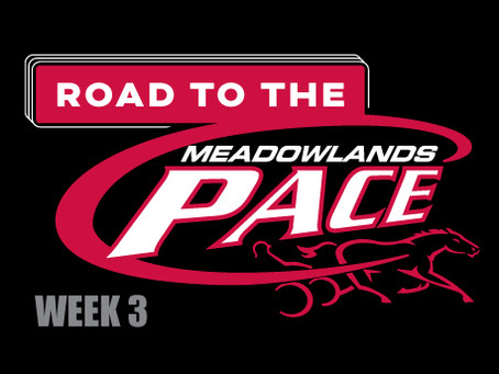 Week 3 of Dave Little's Road to the Meadowlands Pace