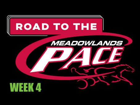Week 4 of Dave Little's Road to the Meadowlands Pace