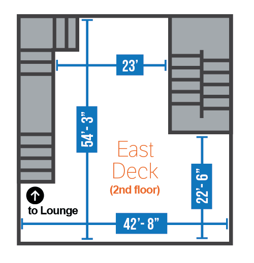 East Deck