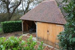 2 bay garage