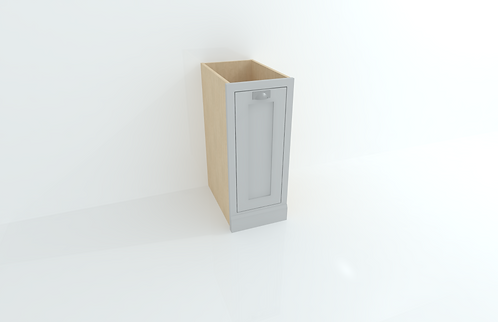 370mm Single Bin Cabinet