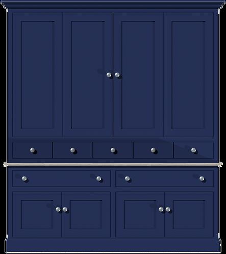 Sussex 5ft Media Dresser