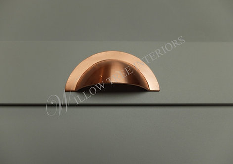 The Sussex 64mm Brushed Copper Round Cup