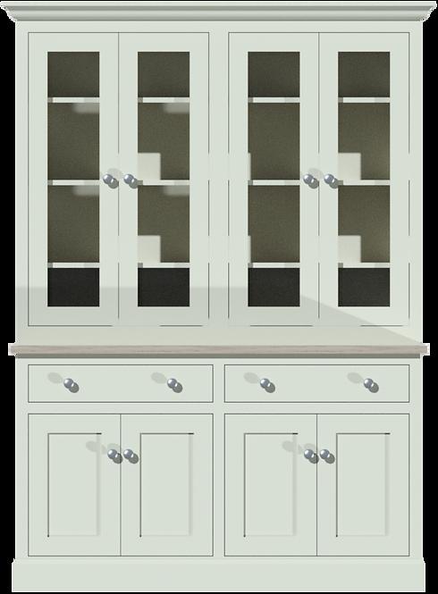 Sussex 5ft Glazed Dresser