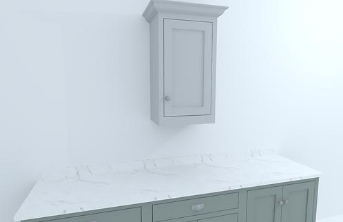 500mm Single Door Wall Cabinet