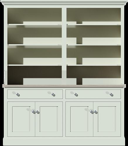 Sussex 6ft Open Rack Dresser