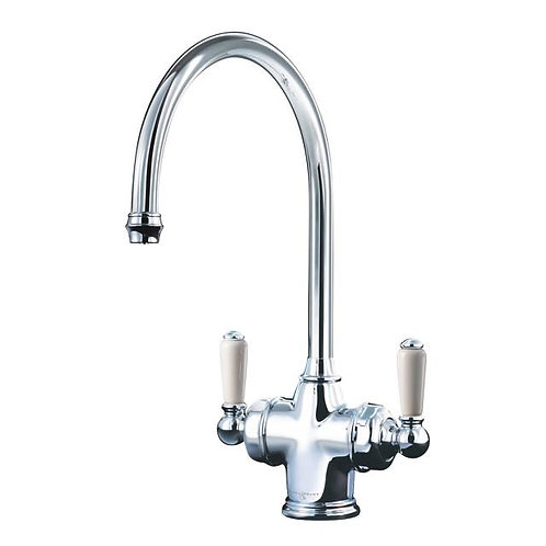 Parthian Dual Lever Sink Mixer with Filtration