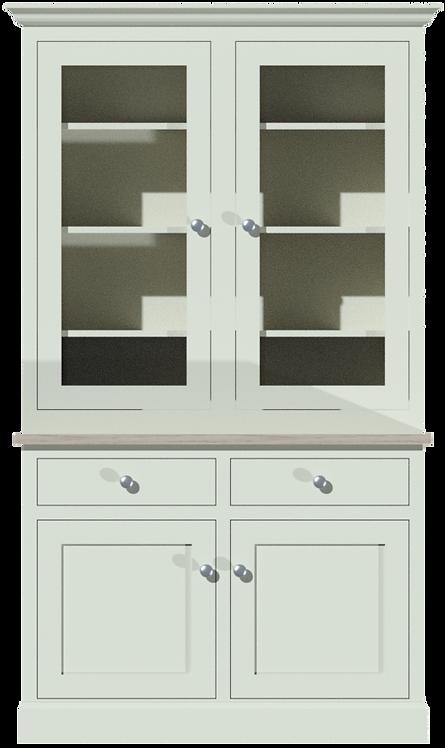 Sussex 4ft Glazed Dresser
