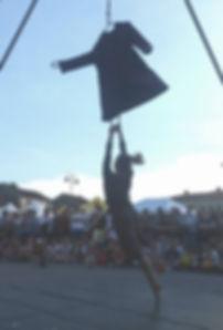 Aerial rope, aerial artist, circus performer, corda aerea