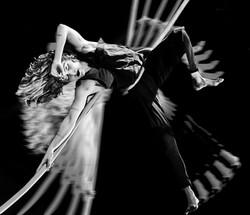 corda movimento danza aerea