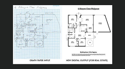 CAD Drafting Converting Images Service MDzyne